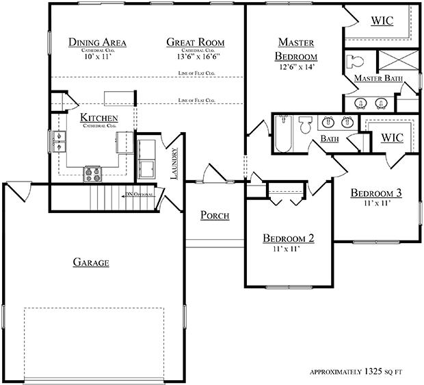 Sussex floor plan
