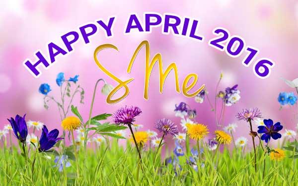 Happy April 2016