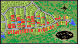 Satterfield site map