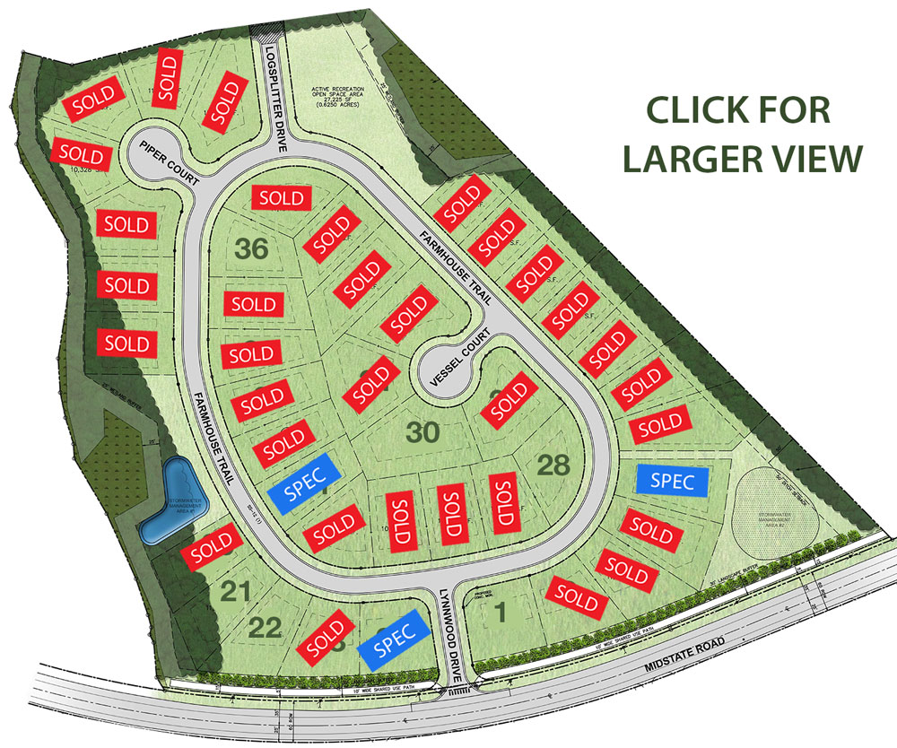Lynnwood Village Site Map