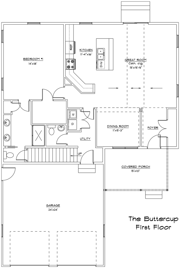 Buttercup Model Home