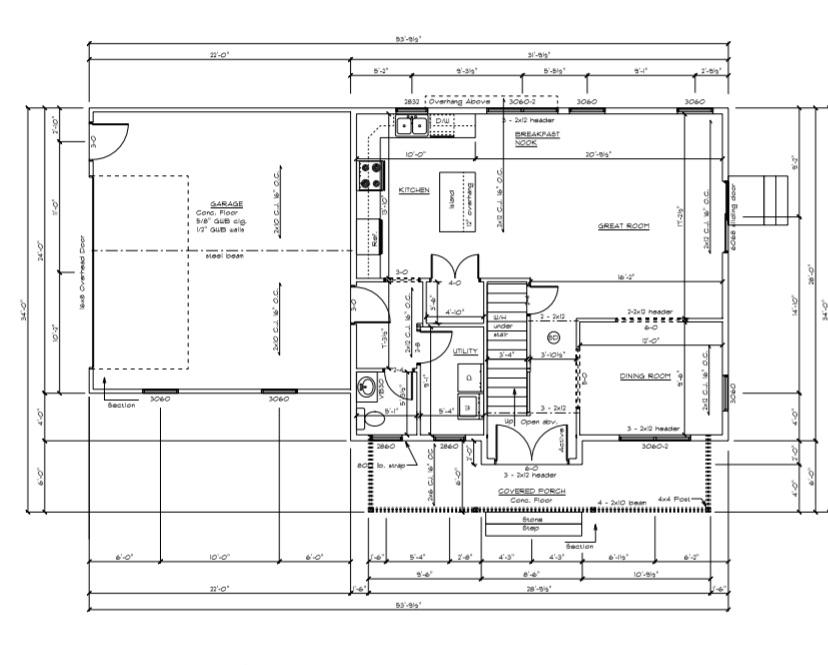 The Wyandotte first floor