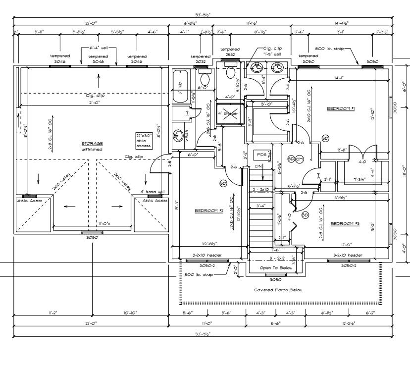 The Wyandotte second floor