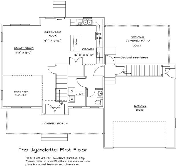 Wyandotte first floor