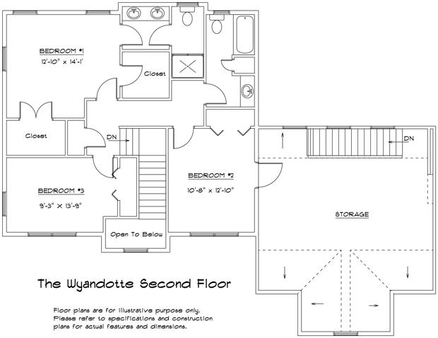 Wyandotte second floor