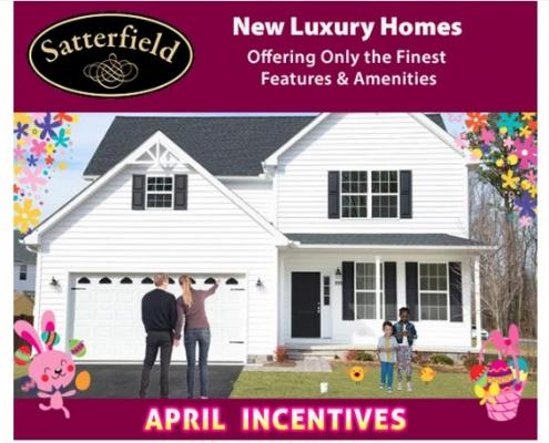 Satterfield & Lynnwood Village April Incentives