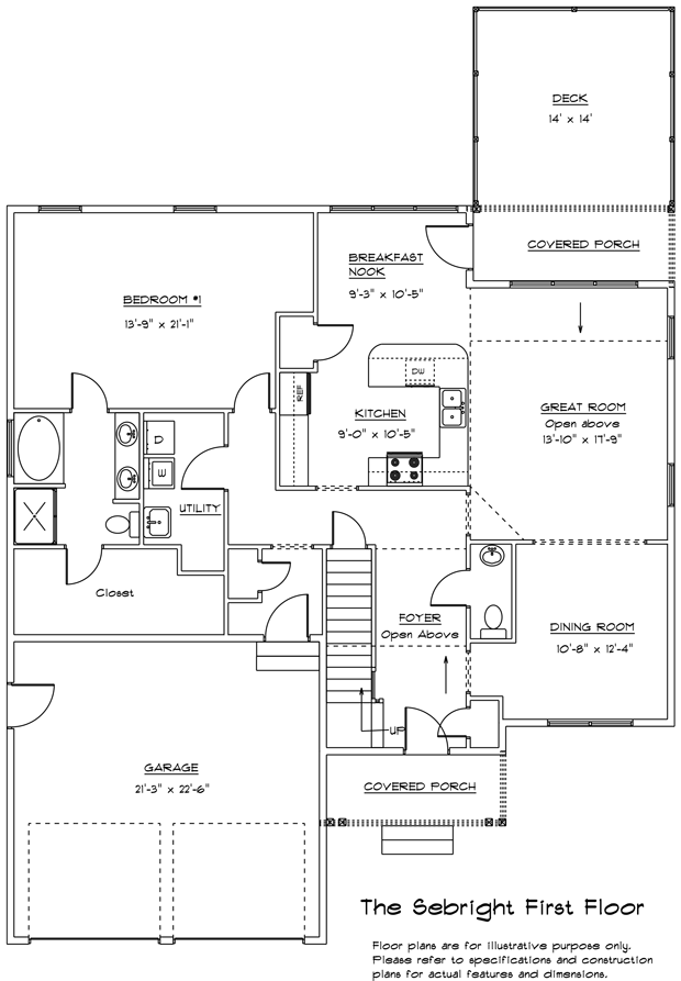 Sebright 1st floor plan