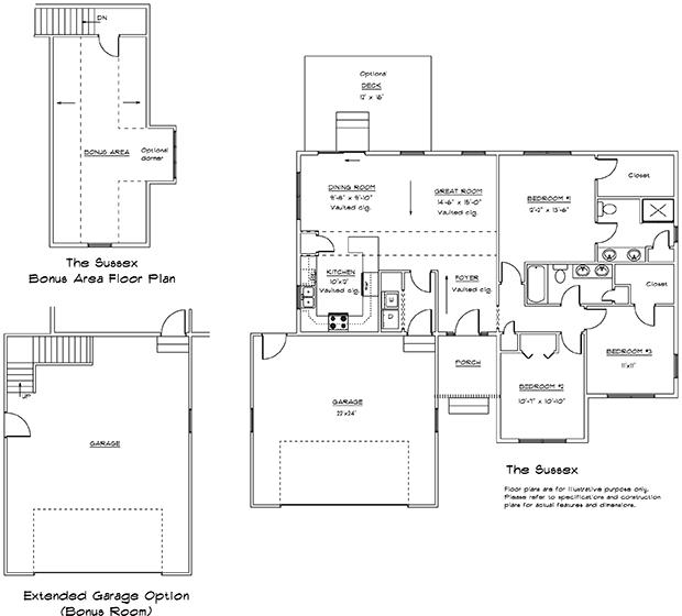 Sussex 1st floor plan