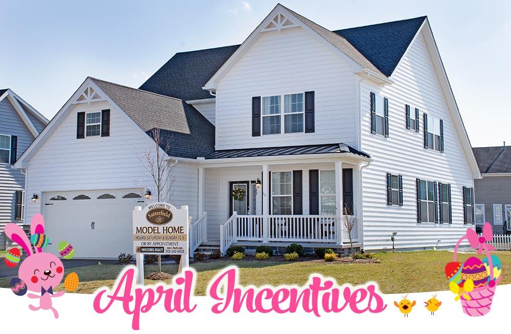 Satterfield April Incentives